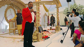 Toastmaster for Ethnic Weddings